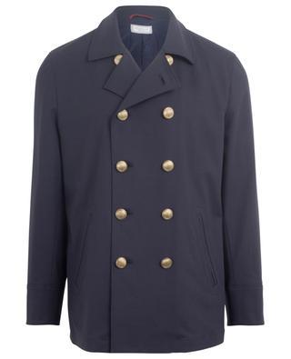 Lightweight cotton pea coat BRUNELLO CUCINELLI