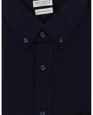 Hemd aus Baumwolljersey BRUNELLO CUCINELLI