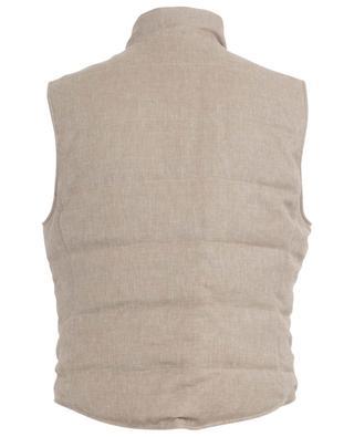 Reversible sleeveless down jacket BRUNELLO CUCINELLI