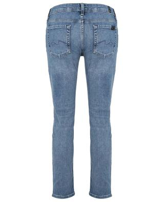 Pyper Crop distressed cotton-blend jeans 7 FOR ALL MANKIND