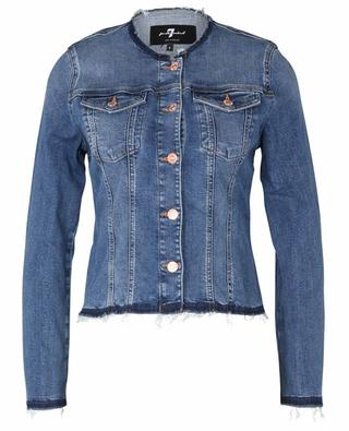 Slim Illusion Player fitted denim jacket 7 FOR ALL MANKIND