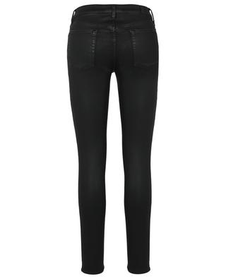 Jean enduit super skinny The Skinny Coated Slim Illusion Black 7 FOR ALL MANKIND