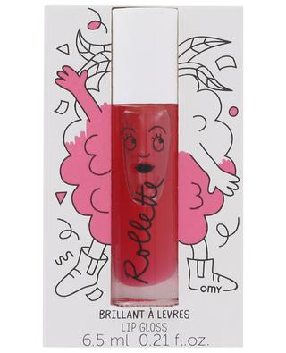 Rollette Raspberry lip gloss NAILMATIC