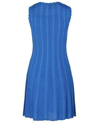 Mini tank dress in fine zigzag knit M MISSONI