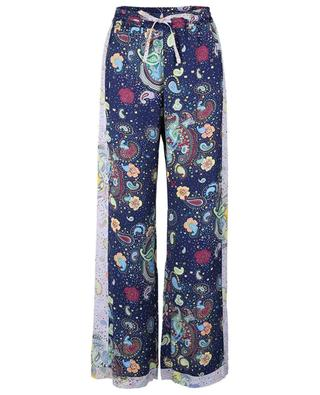 Viscose trousers with abstract print M MISSONI