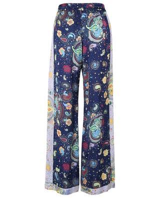 Pantalon en viscose à imprimé abstrait M MISSONI