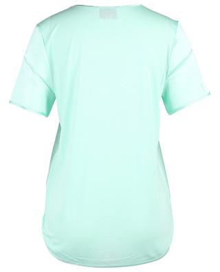 T-shirt en satin de soie et modal HERZEN'S ANGELEHEIT