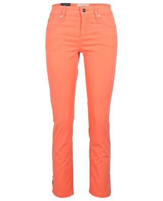 Tess coral cropped straight fit jeans CAMBIO