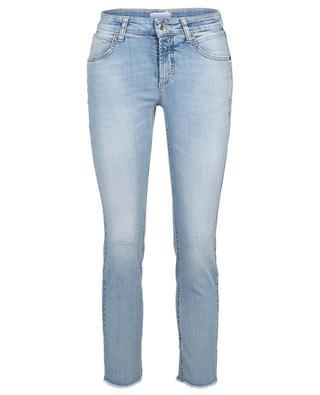 Slim-Fit-Jeans aus Bio-Baumwolle mit Kristallen Pina CAMBIO