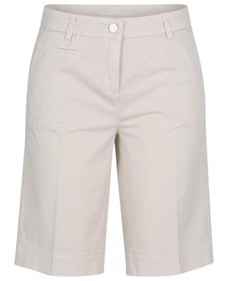 Stella gabardine Bermuda shorts CAMBIO