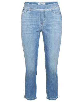 Philia capri jeans with rhinestone side stripes CAMBIO