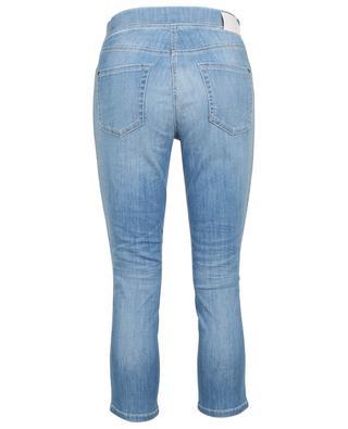 Capri-Jeans mit Seitenstreifen aus Strass Philia CAMBIO