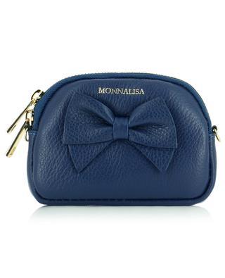 Petit sac porté épaule en cuir MONNALISA