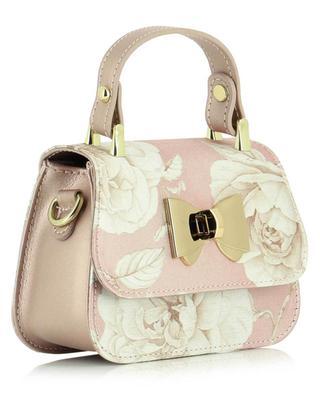 Mini sac à main imprimé fleuri MONNALISA
