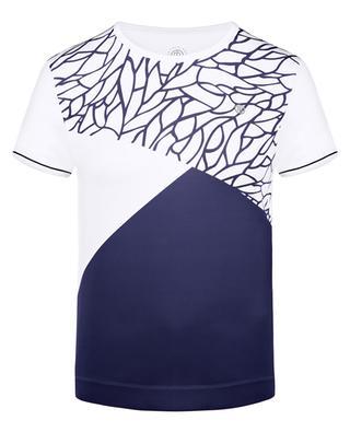 T-shirt en jersey stretch Meryl POIVRE BLANC
