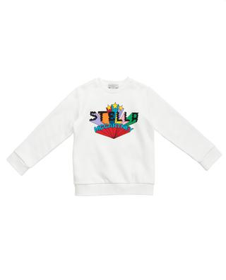 Sweatshirt mit buntem Logoprint Stella Stars STELLA MCCARTNEY KIDS