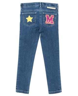 Jean skinny orné de patchs Varsity Badges STELLA MCCARTNEY KIDS