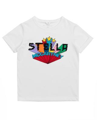 T-shirt imprimé logo multicolore Stella Stars STELLA MCCARTNEY KIDS