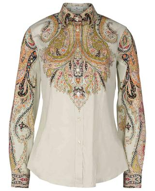 Baumwollmix-Hemd mit Paisleyprint ETRO
