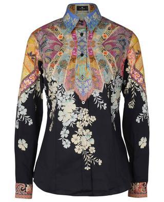 Hemd aus Baumwollmix mit floralem Muster ETRO