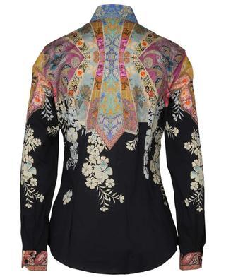 Cotton-blend floral shirt ETRO
