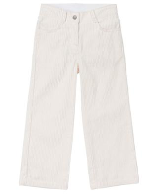 Jumbo flared corduroy trousers STELLA MCCARTNEY KIDS