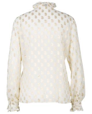 Hemd aus transparenter Seide mit Paisley-Muster ETRO