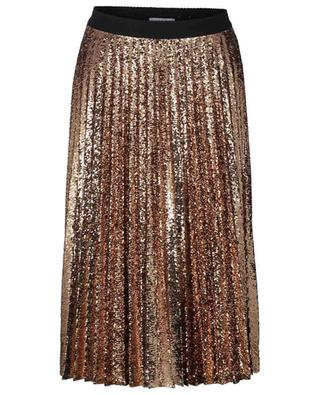 Lella pleated sequined midi skirt IBLUES