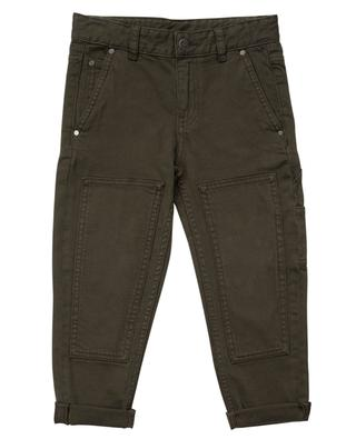 Jeans with patches STELLA MCCARTNEY KIDS