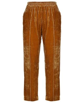 Belami straight viscose and silk trousers MES DEMOISELLES