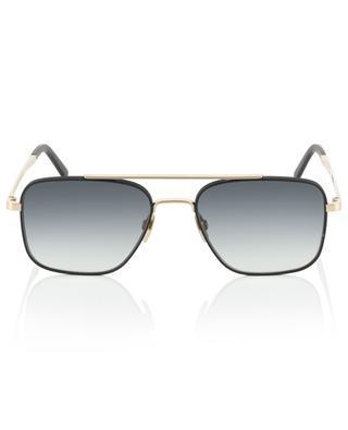 The Pioneer bicolour metal aviator sunglasses VIU