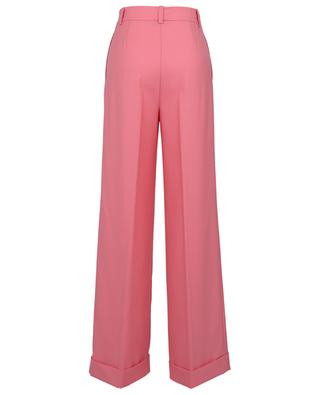 Wide leg wool blend trousers with pleats TWINSET