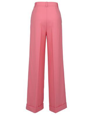 Pantalon large à plis en laine mélangée TWINSET