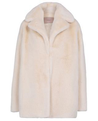 Mantel aus Kunstpelz TWINSET