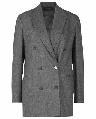 Double-breasted virgin wool blazer LORENA ANTONIAZZI