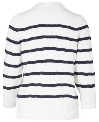 Striped virgin wool, cashmere and silk jumper LORENA ANTONIAZZI