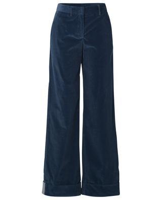 Pantalon large en velours côtelé LORENA ANTONIAZZI