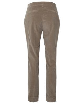 Tapered trousers in corduroy LORENA ANTONIAZZI