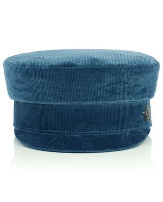 Seemanns-Kappe aus Kordsamt mit Stern LORENA ANTONIAZZI