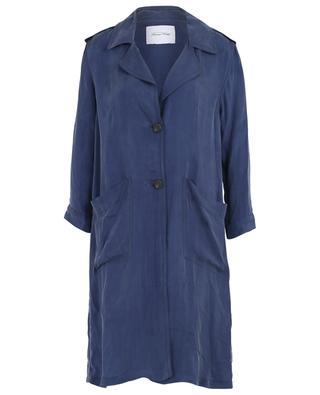 Manteau léger en viscose et cupro Nonogarden AMERICAN VINTAGE