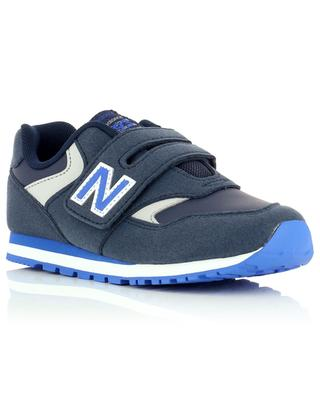 Baskets en cuir et daim à scratch 993 NEW BALANCE