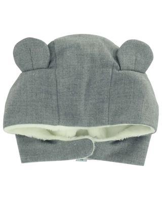 Bonnet aux oreilles d'ours avec fourrure snythétique TARTINE ET CHOCOLAT
