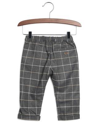 Pantalon à carreaux en flanelle Baby Loup Y Es Tu? TARTINE ET CHOCOLAT