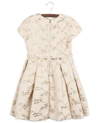 Geblümtes Kleid aus goldenem Jacquard Cérémonie TARTINE ET CHOCOLAT