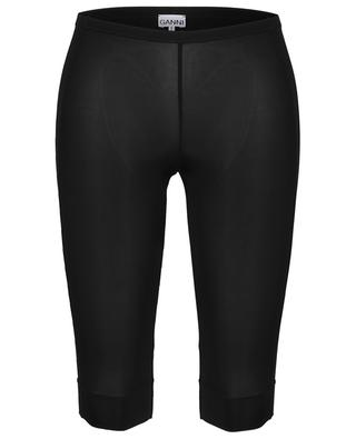Lingerie spirit biker shorts in rayon GANNI