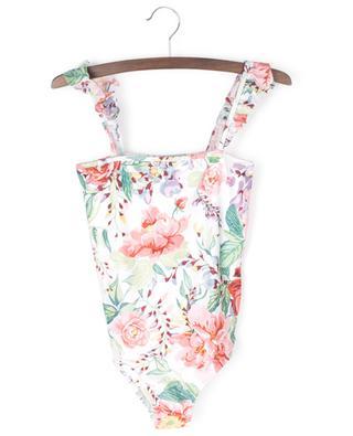 Bellitude Frill floral swimsuit ZIMMERMANN