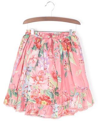 Bellitude Flounce floral cotton skirt ZIMMERMANN