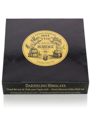 Darjeeling Himalaya muslin tea sachets MARIAGE FRERES