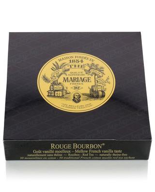 Rouge Bourbon rooibos tea sachets MARIAGE FRERES