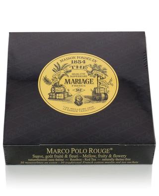 Tee in Musselin-Beuteln Marco Polo Rouge MARIAGE FRERES